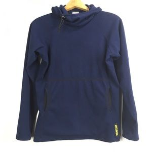 Melanzana Hooded Pullover Scuba Navy Blue